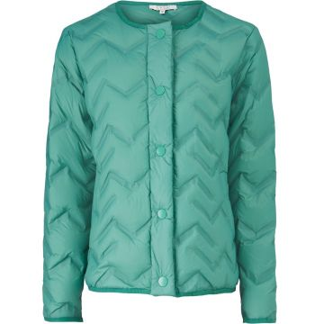 Tuve quilted jacket - bottle green