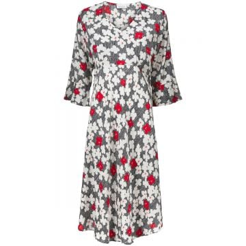 Nita dress in an all-over floral print