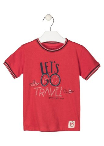 """Lets go travel"" short sleeve t-shirt"