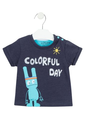 Blue Monster two piece set - T-shirt and shorts