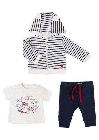Boat print - three piece set