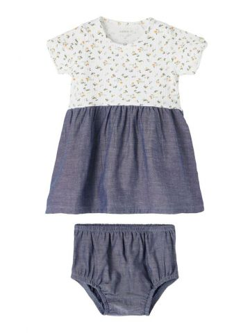 T-shirt dress with bloomers