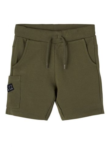 Shorts with pocket and adjustable waist