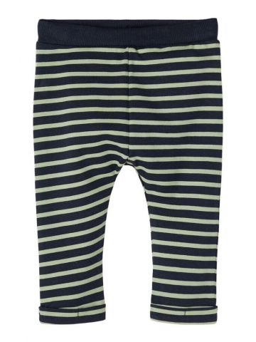 Sweatpants with an all over stripe