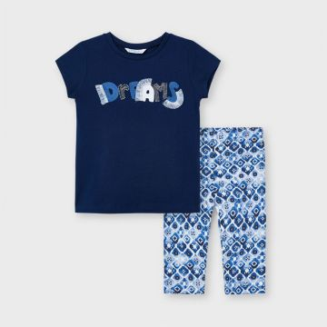 Dreams printed leggings set