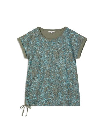 Airy t-shirt in an all over print