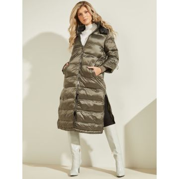 Thermo tape puffer coat - down proof