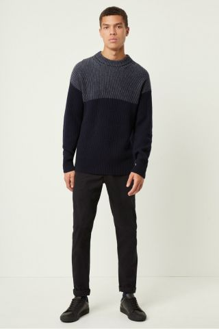 Heavy Rib Fishermans Jumper