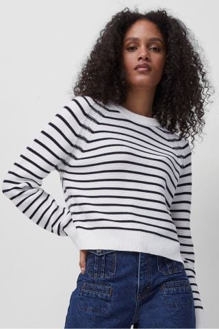 Lilly Mozart rib knit jumper - Stripe