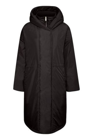 Montreal puffer coat with hood