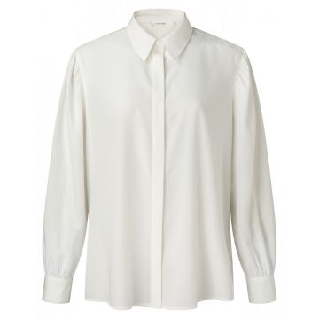 Shirt with puff shoulder detail