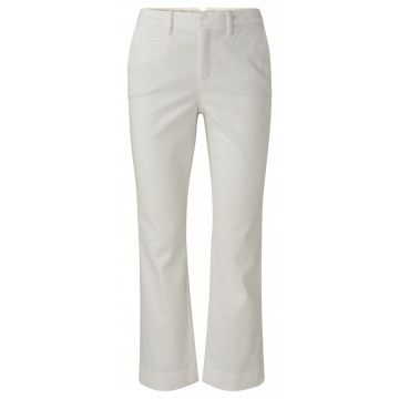 Kick flare chino in a cotton blend