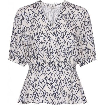 Heart Dana blouse