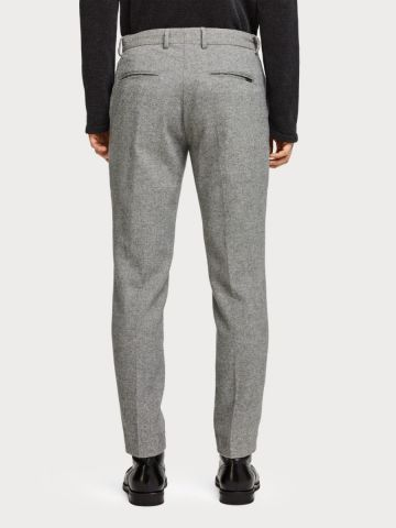 Stuart - wool blend slim fit trouser Scotch and Soda