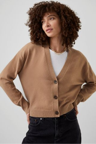 Millia cardigan in a boxy fit