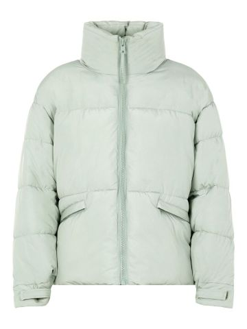 Freeda puffer jacket with high neck