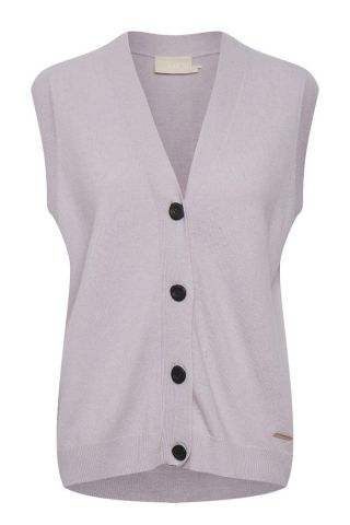 Knitted waistcoat - Lilac