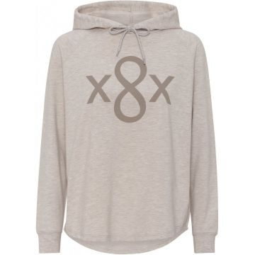 Roxette hoody with logo detail