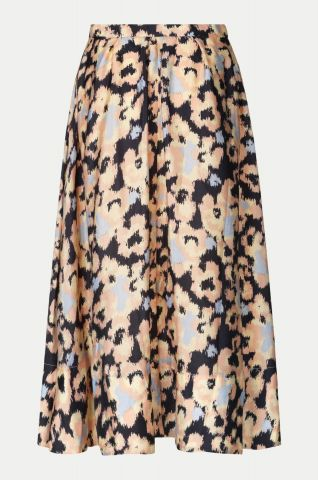 Ruth skirt in an all over abstract floral print