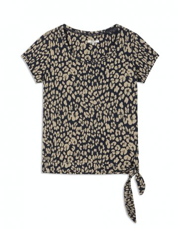 T-shirt with an all over animal print