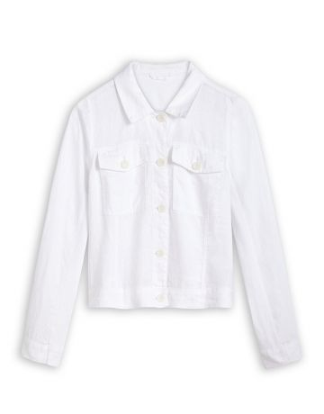Linen Jacket with long sleeves