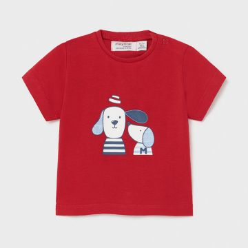 Short sleeve t-shirt with applique