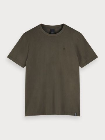 Cotton Jersey crew neck T-Shirt 2