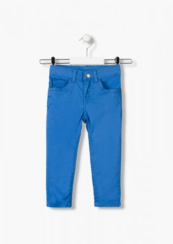 Super soft twill trousers in a skinny fit