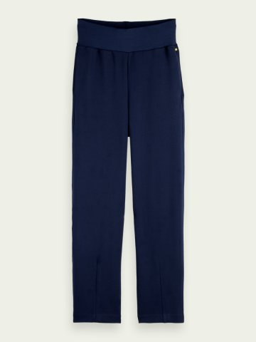 Tapered high rise sweatpants - Navy