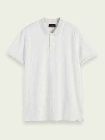 100% Cotton polo shirt with a short sleeve